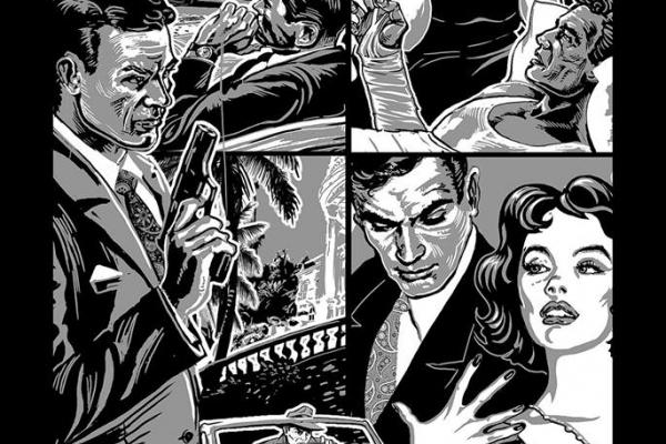 Тернопільський художник Олег Кіналь ілюструє серію перших україномовних книг про Джеймса Бонда