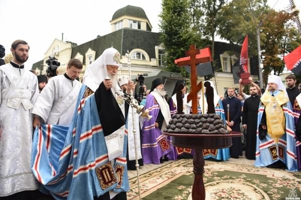 Патріарх Філарет звершив Панахиду за загиблими захисниками Батьківщини
