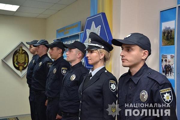 У Тернополі – шестеро нових поліцейських