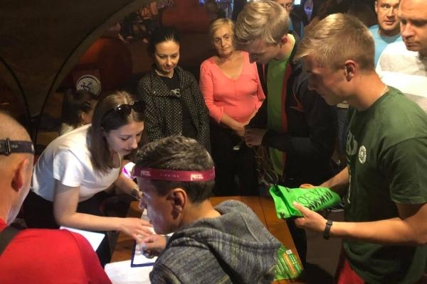Вперше у Тернополі відбувся легкоатлетичний пробіг «Нічна Озеряна» (Фото, відео)