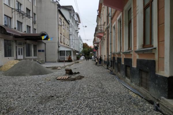 Одну з центральних вулиць Тернополя прикрашатиме мобільне та вертикальне озеленення