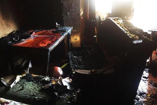 У Тернополі внаслідок пожежі чоловік отруївся чадним газом