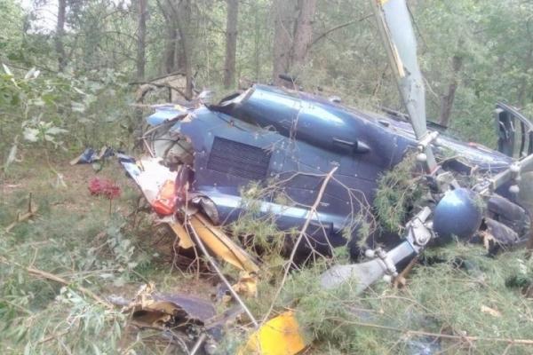 Авіакатастрофа у Києві: На Трухановому острові впав вертоліт (Фото)