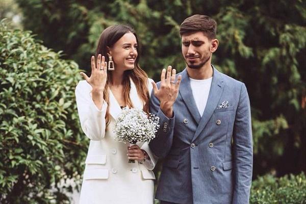 Петро Заставний та Аліна Френдій тепер офіційно чоловік та дружина (Фото)