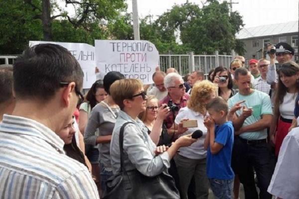 Борці проти «альтернативи» змусять тернополян більше платити за тепло