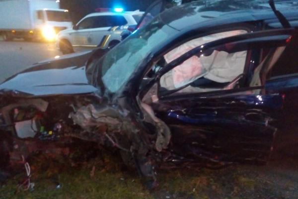 На Тернопільщині смертельне ДТП: водій та пасажир загинули на місці (Фото)