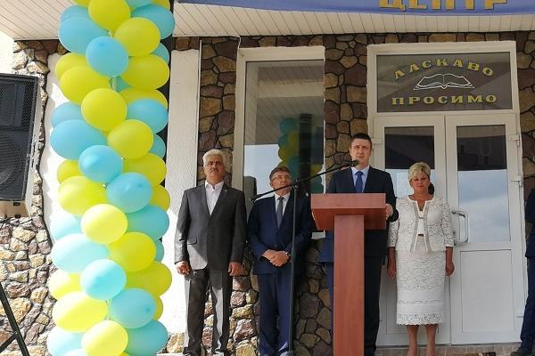 У Кременецькому профліцеї за участі Віце-прем'єр-міністра Кириленка відкрили навчально-практичний центр