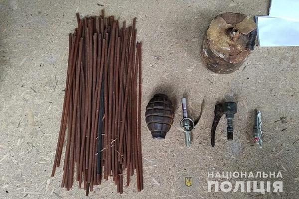 Житель Коропця нелегально зберігав у себе вдома колекцію зброї часів Другої світової війни