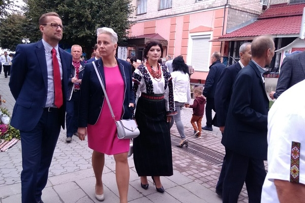 На Тернопільщину прибула делегація з Польщі (Фото)