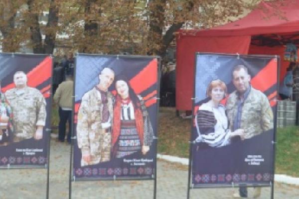 Під час фестивалю «Борщівської вишиванки» вандали понівечили портрет героя АТО