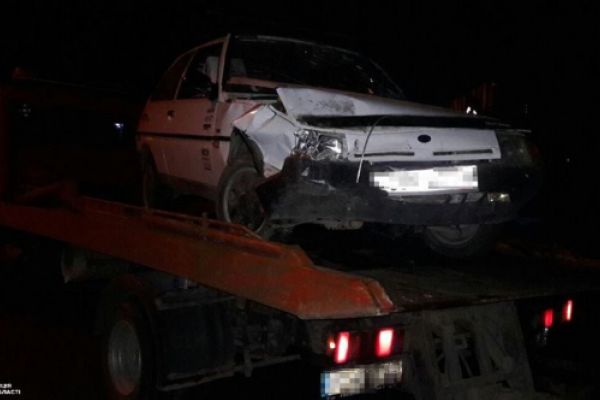 У Тернополі п'яний водій виїхав на зустрічну смугу та вчинив ДТП