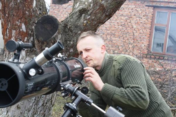 Астроном з Тернопільщини пояснив, чому планує купувати ділянку на Юпітері (Фото)