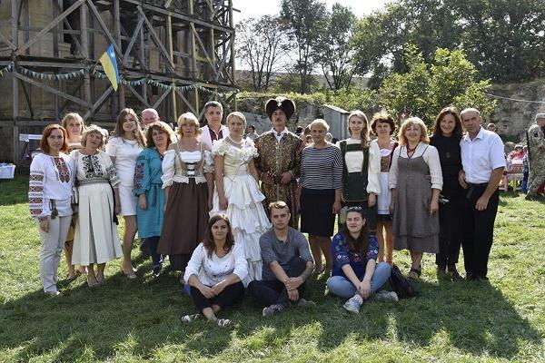 У Бережанах відбувся фестиваль замку Синявських (Фото)