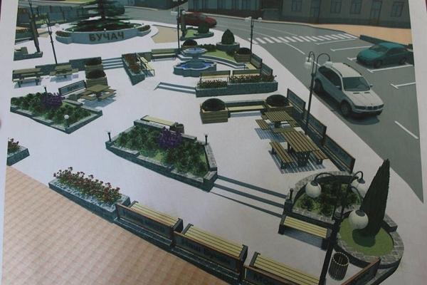 У Бучачі проведуть реконструкцію площі Ринок