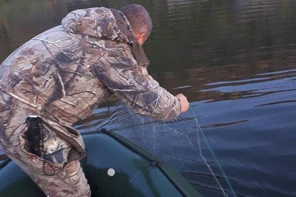Тернопільський рибоохоронний патруль піймав чергових браконьєрів (Фото)