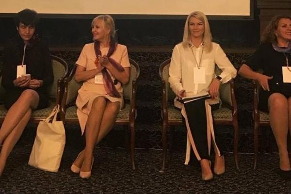 Ольга Шахін поділилася своїми враженнями від Міжнародного жіночого форуму
