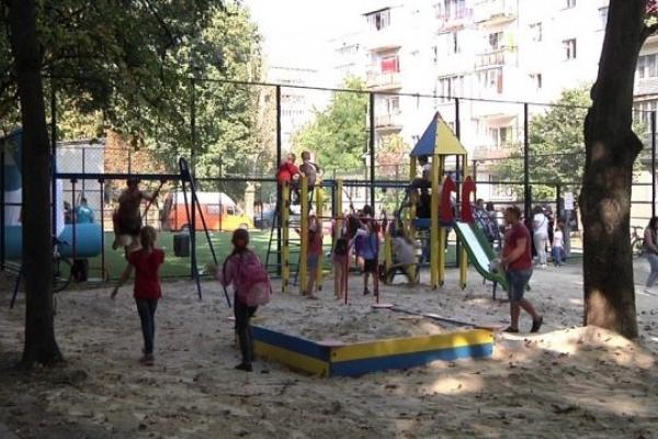 У Тернополі відкрили новий спортивний майданчик (Відео)