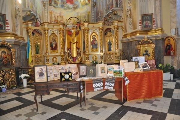 Колекцію мистецько-духовних арт-буків презентували у тернопільському соборі Непорочного зачаття Пресвятої Богородиці