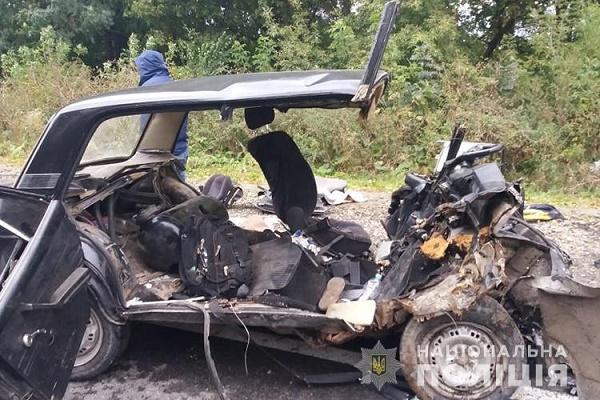В ДТП у Збаразькому районі загинуло троє людей