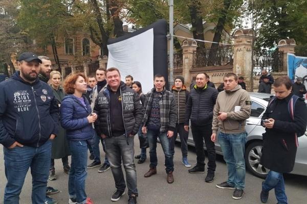 «Ніч на Банковій»: акція на підтримку активістів у Києві (Наживо)