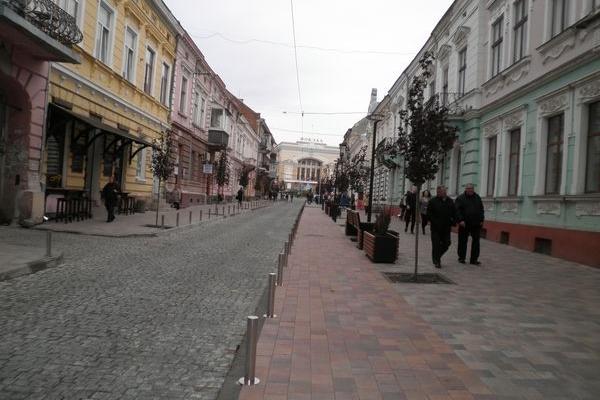 Європейська вулиця Файного міста (Фото)