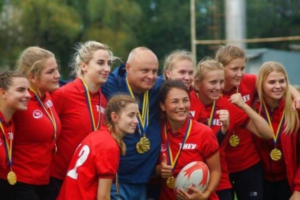 Регбійна команда «Універ ТНЕУ» стала чемпіоном України з регбі-7