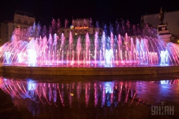 Київські фонтани відключили до 1 травня наступного року