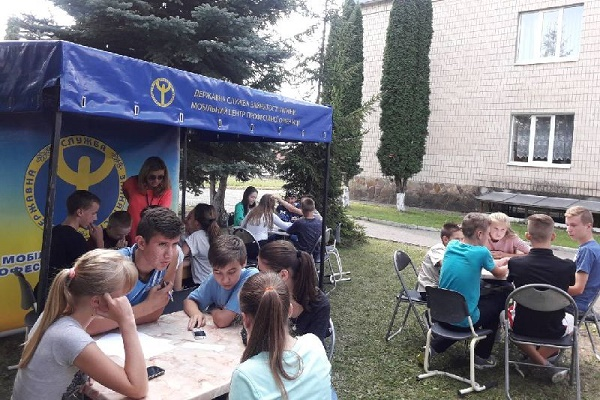 Мобільний центр профорієнтації у школах Тернопільського району
