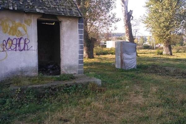 В мережі з'явилися фото туалету в парку Збаража (Фото)