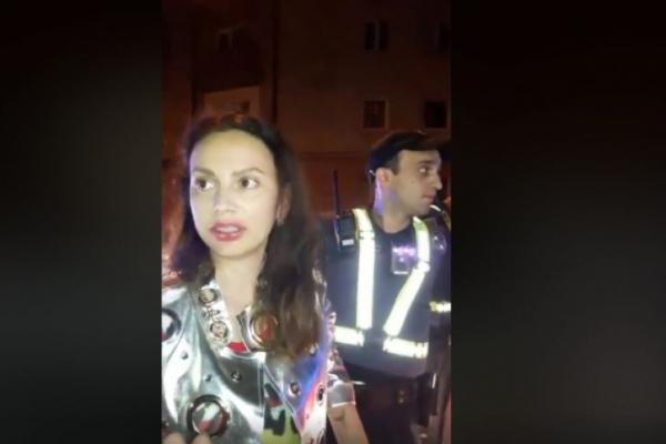 Наталія Зоткіна, яка обматюкала поліцейських, хоче назад своє водійське посвідчення