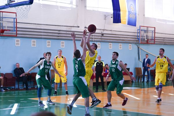 Баскетбольний клуб «Тернопіль-ТНЕУ» зіграє з БК «Київ-Баскет»