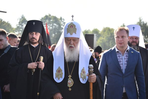 На Тернопільщину прибув Святійший Патріарх Київський і всієї Русі-України Філарет