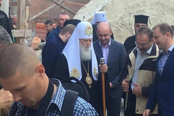 Патріарх Філарет приїхав на Тернопільщину (Відео)