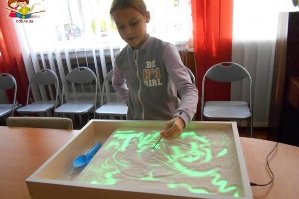 До Дня художника маленькі тернополяни малювали «Казку на піску»