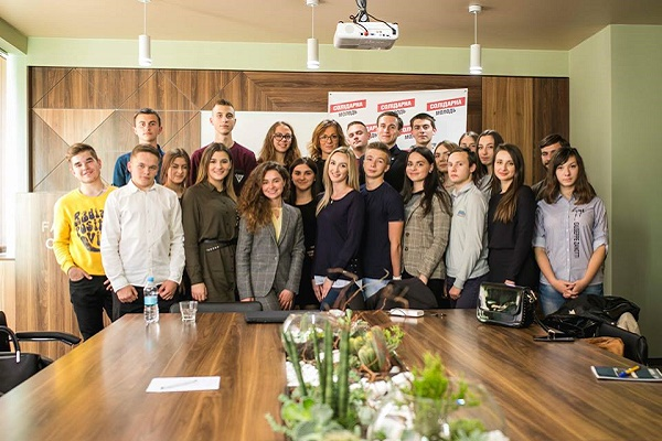 У Тернополі зорганізували дипломатичний марафон «Youth Global Goals»