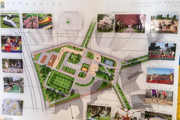 У Тернополі знову з'явиться новий парк