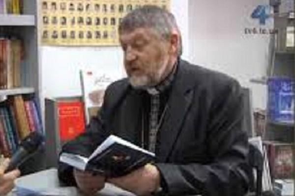 Отця-доктора Василя Погорецького нагороджено медаллю Івана Мазепи