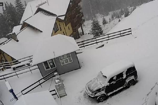 Карпати рясно засипало снігом (Фото, Відео)
