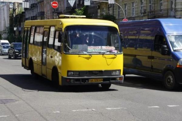 Водій київської маршрутки встановив черговий антирекорд