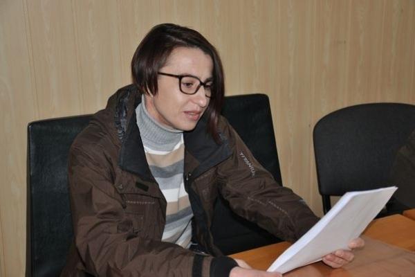 Тернопільська журналістка і драматург Ліля Костишин зустрілась із літераторами краю