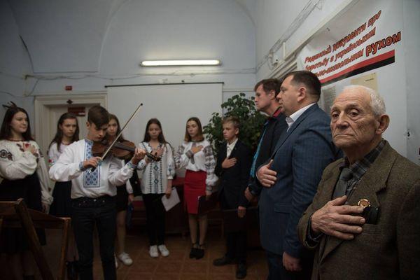 У Тернополі відкрили виставку «Листопадовий зрив»