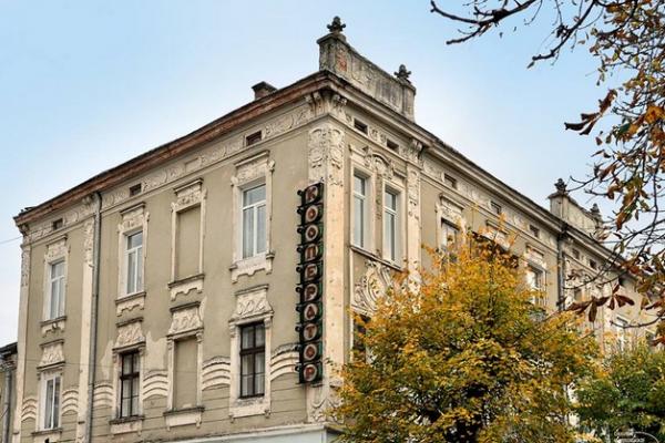 У Тернополі оновили фасад «легендарної» будівлі (Фото)