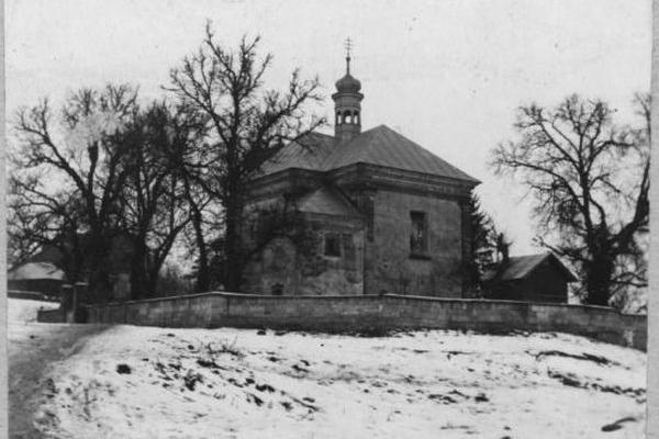 Храм в Буцневі на світлинах 1920-х років