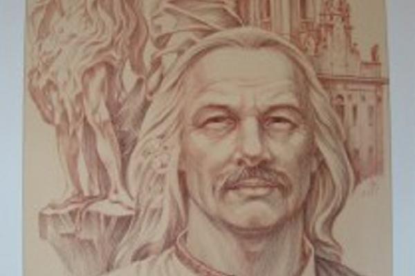 Художник Степан Шевчук подарував Тернопільському краєзнавчому музеєві авторську роботу «Іоан-Георг Пінзель»