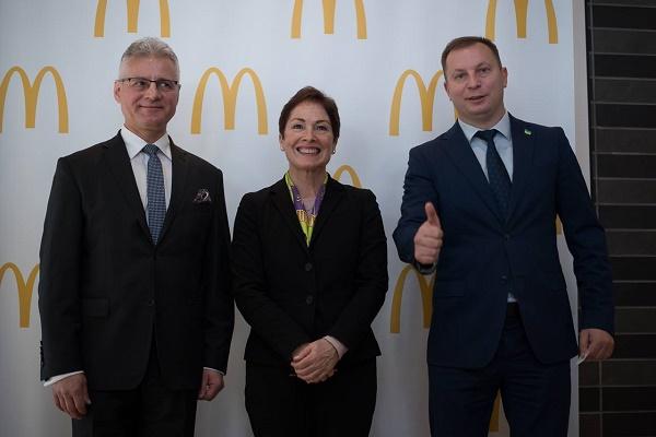 Посол США в Україні Марі Йованович: Відкриття МакДональдз у Тернополі – це довіра до міста та інвестиції в економіку (Фото)
