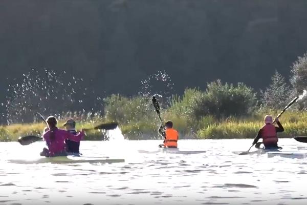 Як тренуються тернопільські байдарочники і каноїсти (Відео)