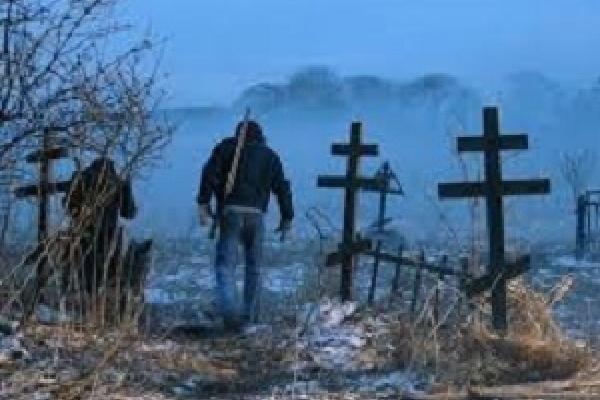 На Микулинецькому кладовищі у Тернополі невідомі зривали державні прапори