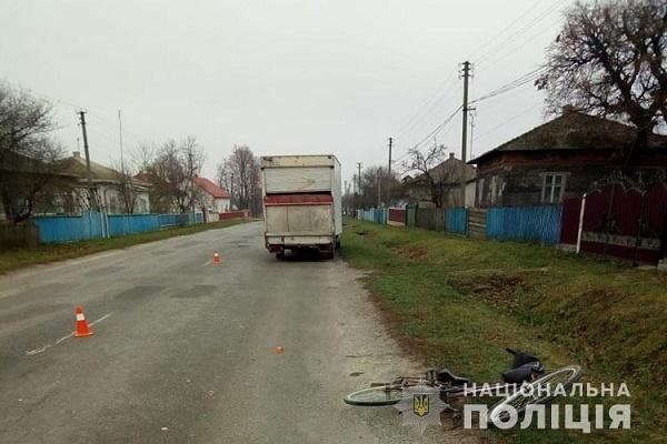 У Борщівському районі автомобіль на смерть збив жінку на велосипеді