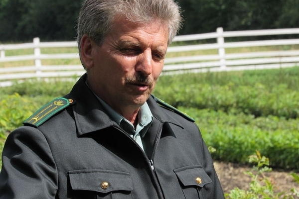 Лісничий Улашківського лісництва – Заслужений лісівник України