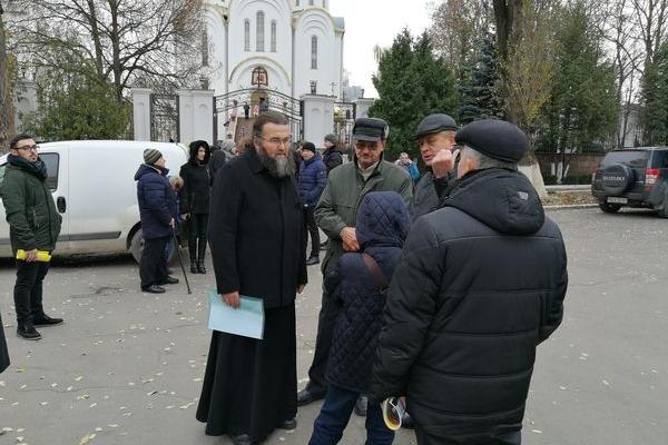 Громадськість Тернопільщини просить Митрополита МП Сергія підтримати утворення єдиної церкви (Фото, Відео)
